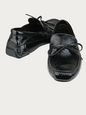 SHOES BLACK 41.5 IT BV-U-199649