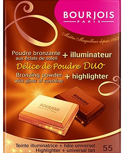 Delice De Poudre Duo Bronzing Powder and Highlighter