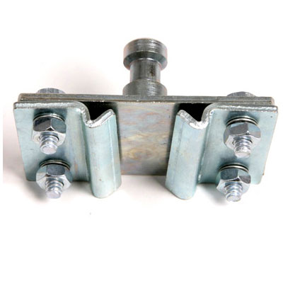Fixed Rail Clamp with Spigot