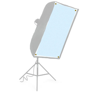 Wafer 56 Spare Mylar Screen 1 - Blue