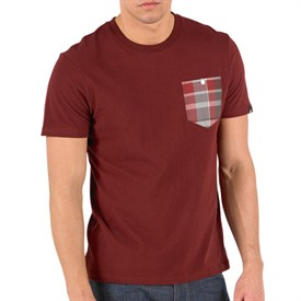 Mens Laddie Patch Pocket T-Shirt Cordovan