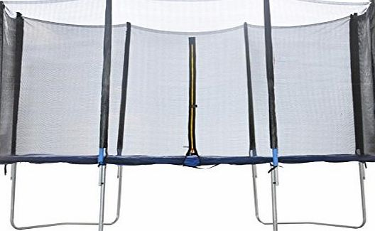 BPS Replacement protective enclosure safety net for trampoline--Trampoline accessoire safety netting 8 FT 6 Poles--Net only