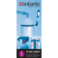 12Ltr Bin Liners Pack of 20