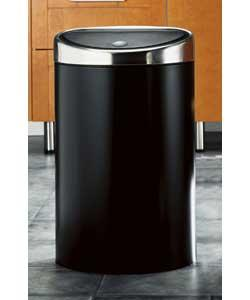 Brabantia 40L Matt Black Touch Top