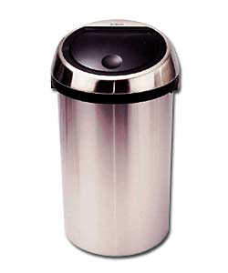 Brabantia 50 Litre Brushed Satin Steel Touch Bin