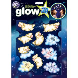 The Original Glowstars Large Glow Sheep and Clouds