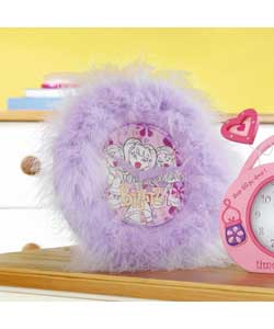 Fluffy Affair Table/Wall Clock