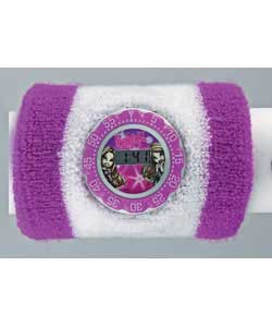 Passion for Fashion Girls LCD Sports Watch