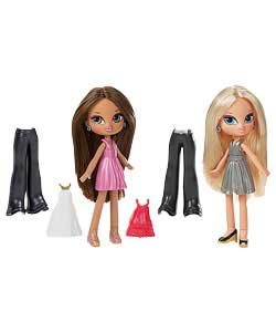 Snap On Doll 2 Pack