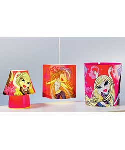 Stars Kool-Lite Shade and Bin Set