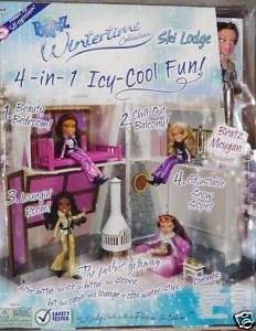 Winter Time Ski Lodge With Free Meygan Doll