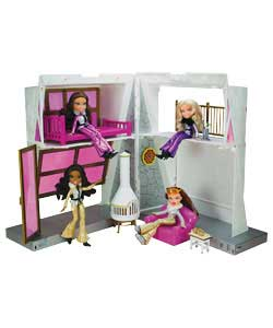 Wintertime Ski Lodge Playset with Doll