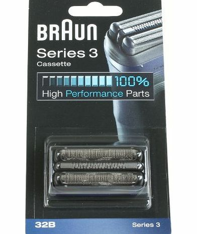Braun 32B Foil Cutter Head Pack for Series 3 Electric Shavers