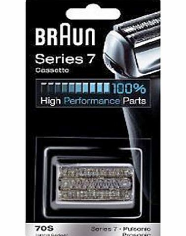 Braun 70S Foil Cutter Head Pack for Series 7 / 9000 Pulsonic Electric Shavers