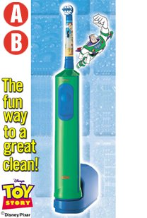 boys battery toothbrush