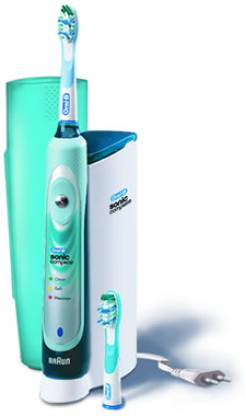 Oral-B Sonic Deluxe Complete Electric Toothbrush