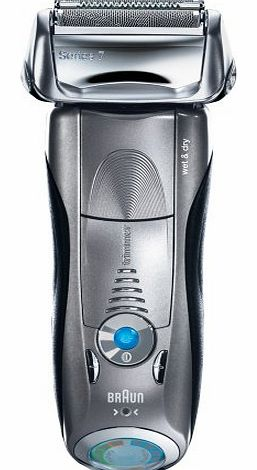 Braun Series 7 799 Electric Rechargeable Wet and Dry Foil Shaver with Clean and Renew Charger