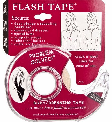 Flash tape Womens Bra Clear One Size