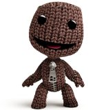 LittleBigPlanet Sackboy 80mm Figure, Hard Plastic with Moving Head, Arms and Legs.