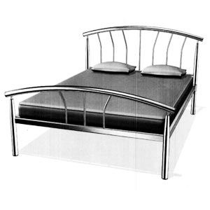 Clearance Breasley Atlantis 5FT Kingsize Bedstead