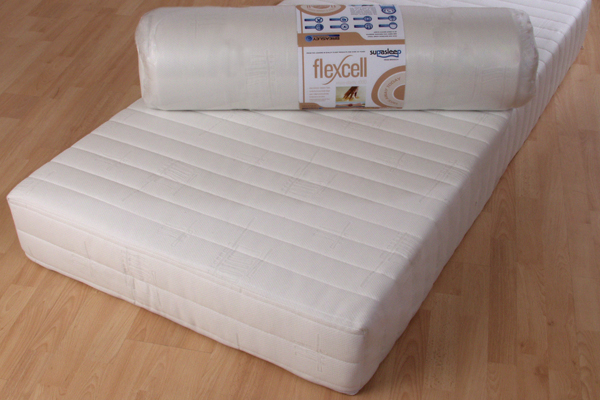Flexcell Visco-elastic 1000 Mattress Double 135cm