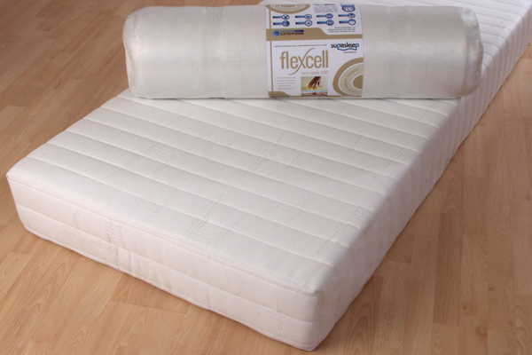 Flexcell Visco-elastic 1200 Mattress Double 135cm