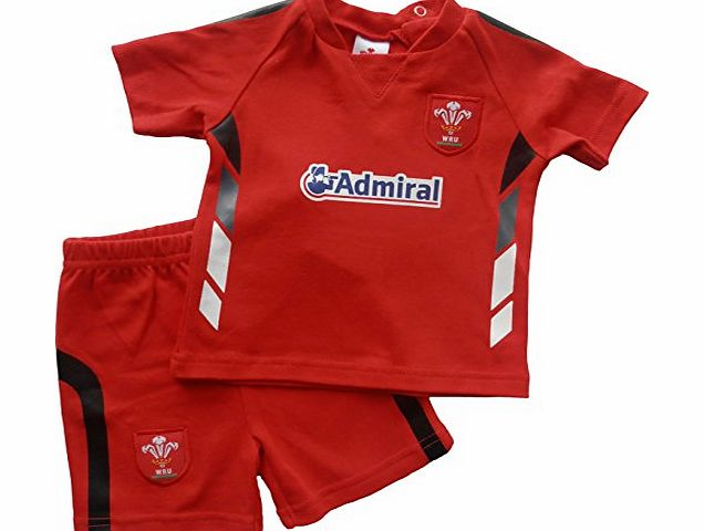 Brecrest Fashion Baby-Boys Welsh Rugby Union WRU303 Clothing Set, Red, 12-18 Months