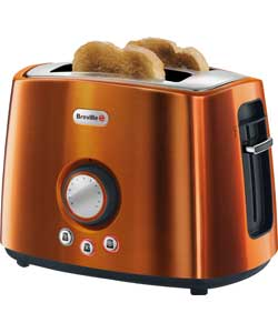 Stainless Steel 2 Slice Toaster - Rio