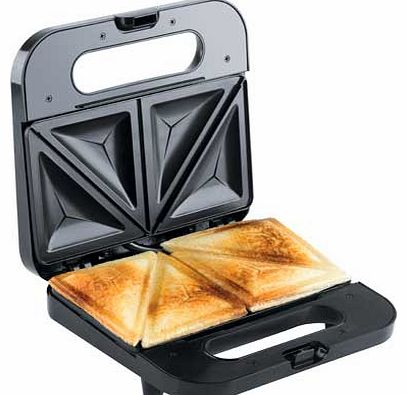 VST057 2 Slice Sandwich Toaster - Black