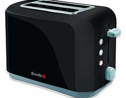VTT232 Black 2 Slice Toaster