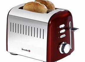 VTT477 Jun14 Aurora Red 2 Slice Toaster