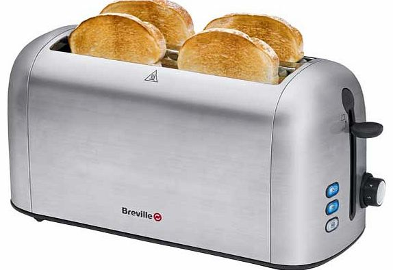VTT550 4 Slice Toaster - Stainless Steel