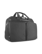 Pininfarina - Black Nylon Multi-compartment Travel Briefcase
