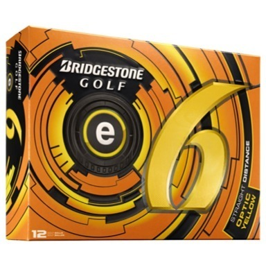 Golf e6 Golf Balls Yellow