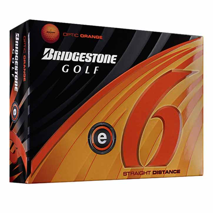 Golf E6 Orange Golf Balls 12 Pack -