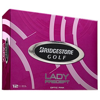 Lady Precept Pink Golf Balls (12