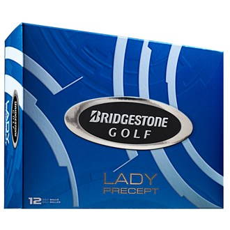 Lady Precept White Golf Balls (12