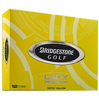 Lady Precept Yellow Golf Balls (12