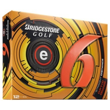 Bridgestone Golf e6 Golf Balls Orange