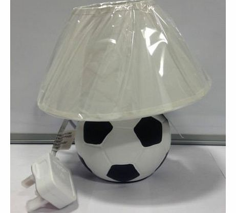 Childrens Football Shaped Lamp - Round Table Lamp Kids Room