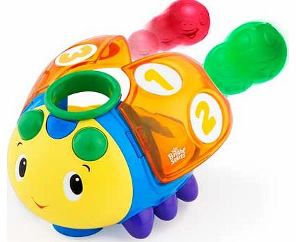 Count and Roll Buggie Activity Toy