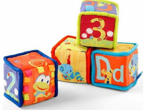 Grab and Stack Blocks Activity Toy