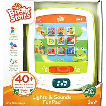 Lights & Sounds Fun Pad Activity Toy