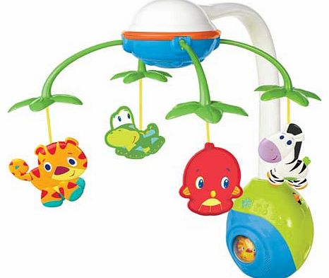 Soothing Safari 2 in 1 Baby Mobile