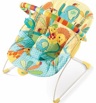 Bright Starts Sunnyside Safari Bouncer (Multicoloured, Newborn )
