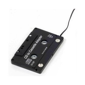 Brilliant Buy Car Cassette Adapter Black