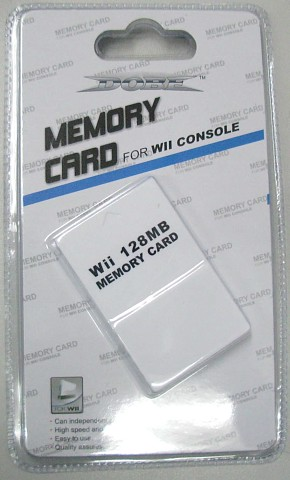 Wii 128mb memory card for Nintendo wii