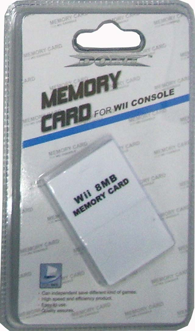 Wii 8mb memory card for Nintendo wii