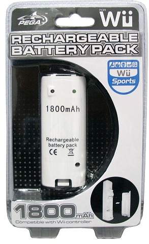 Wii Rechargeable Battery Pack 1800mAH