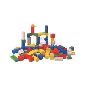 100 Coloured Blocks